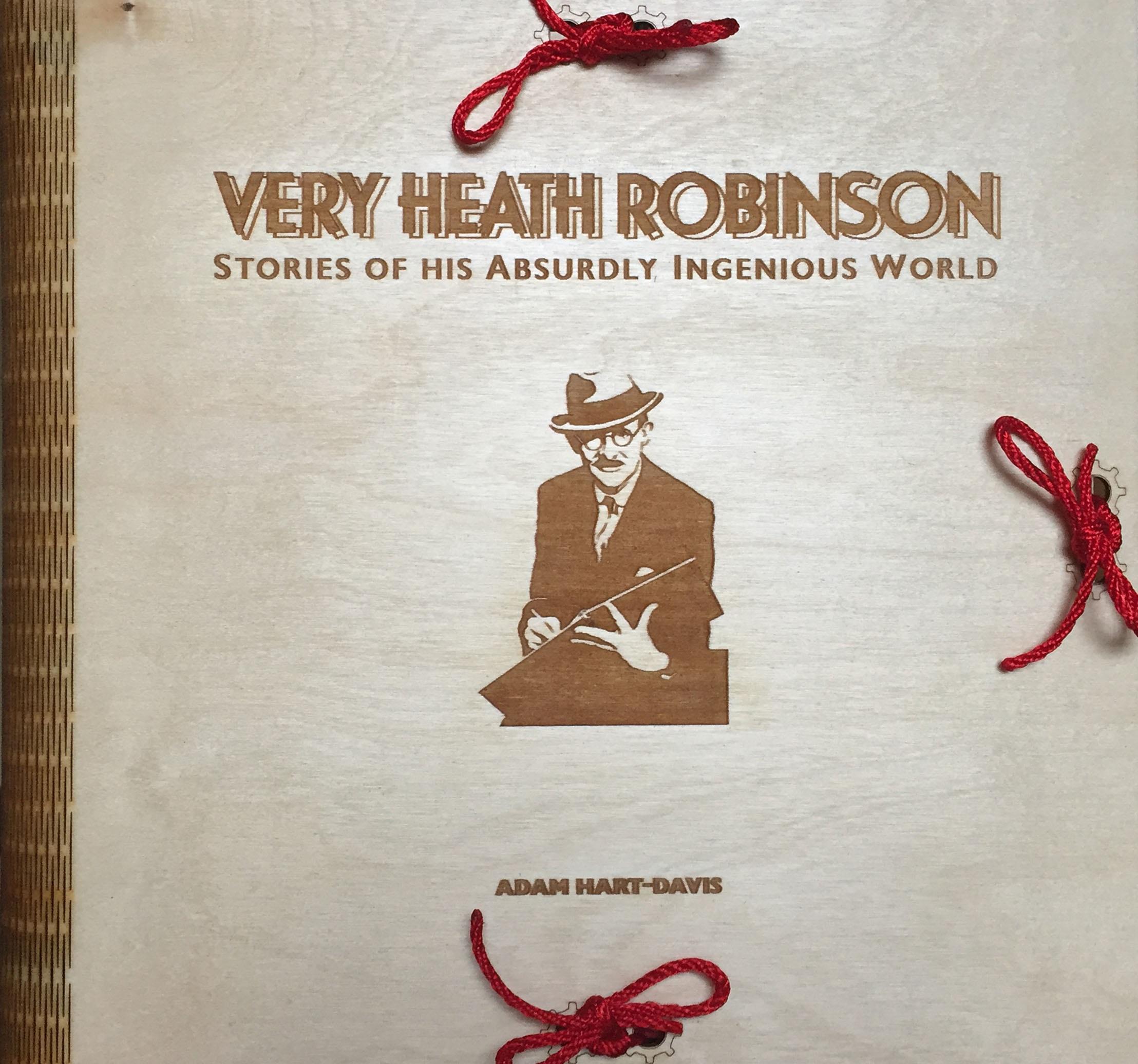 Photo of Heath Robinson wood case.