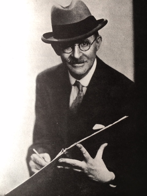Photograph of Heath Robinson.
