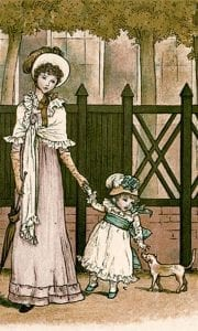 Illustration by Kate Greenaway
