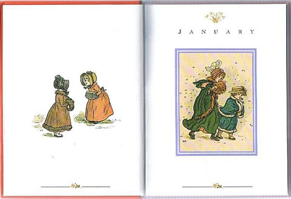 The Kate Greenaway Birthday Book