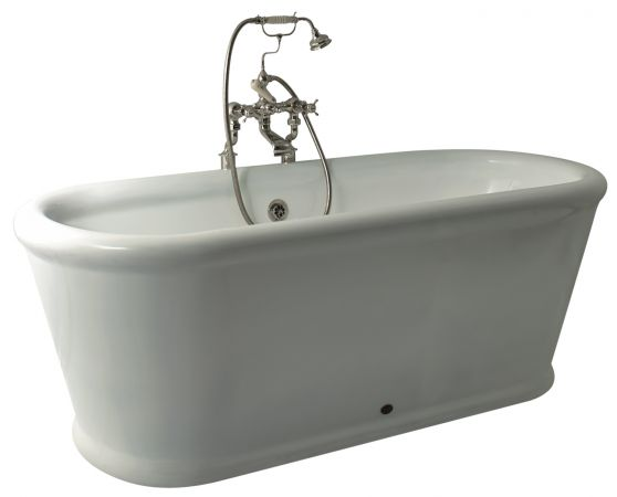 One of the baths supplied by Thomas Crapper
