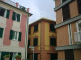 Three buildings in the Ligurian seaside town of Moneglia