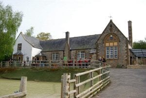 Colour photograph of Shute Primary School.
