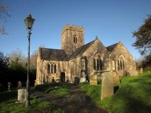 Colour photograph of St Michael's Church.