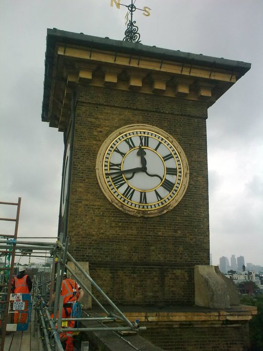 King's Cross clock tower image